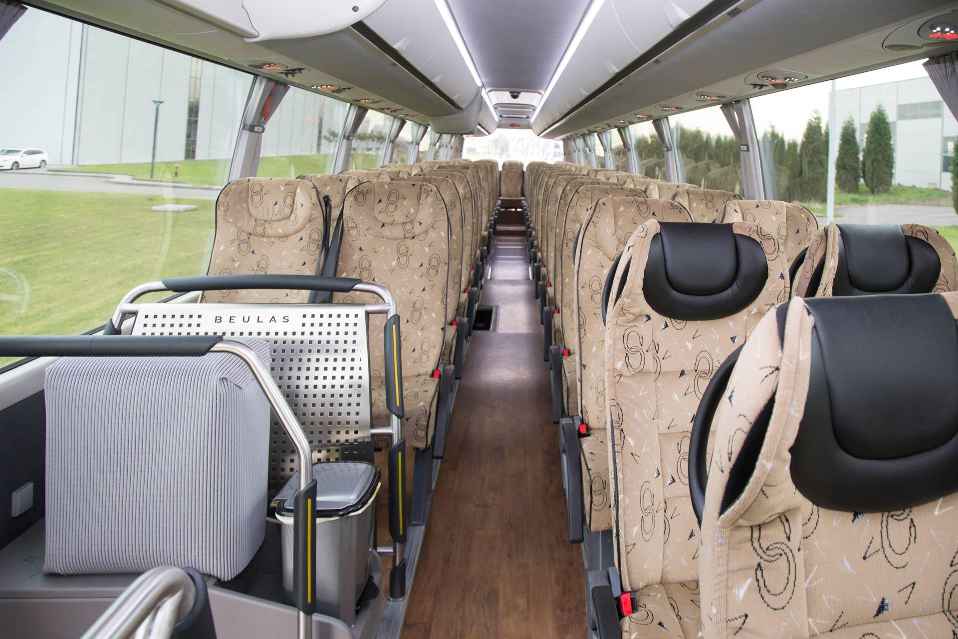Alquiler autobuses de lujo en Asturias