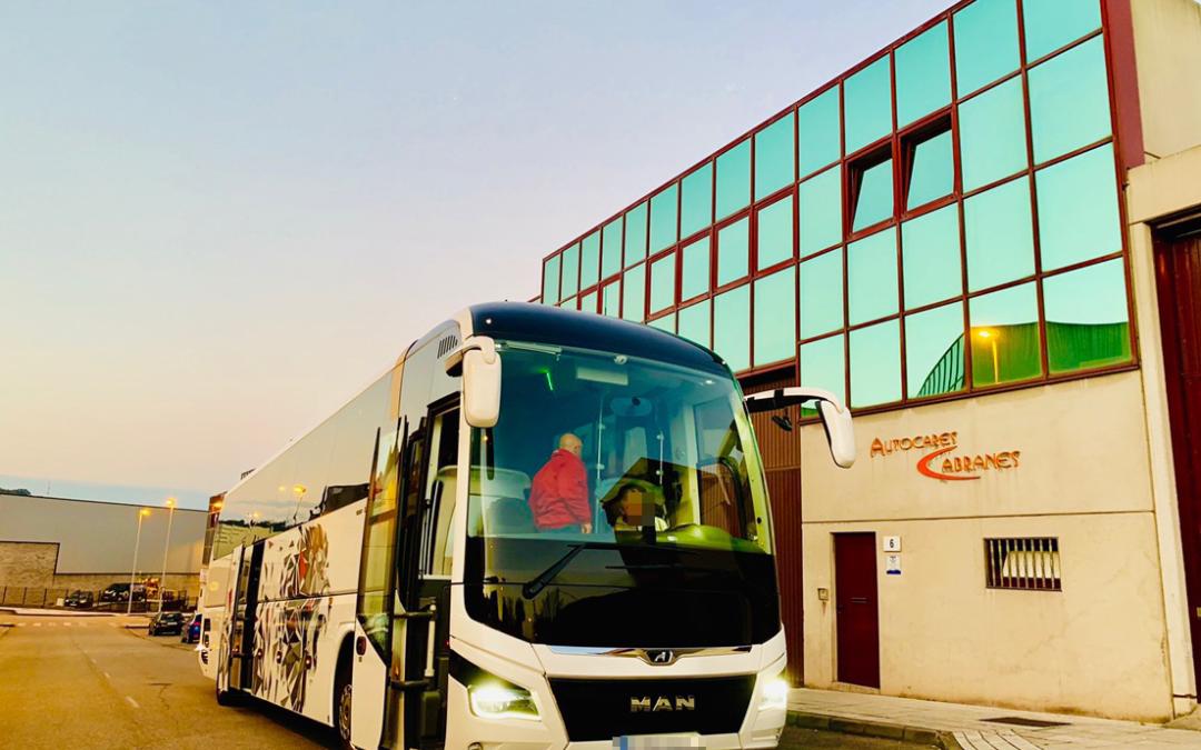 La conducción eficiente y segura, protagonista de la formación en Autocares Cabranes