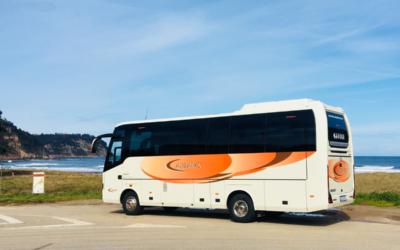 Última incorporación a flota de un nuevo midibus para Autocares Cabranes