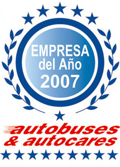 Autocares Cabranes, Company of the Year in 2007