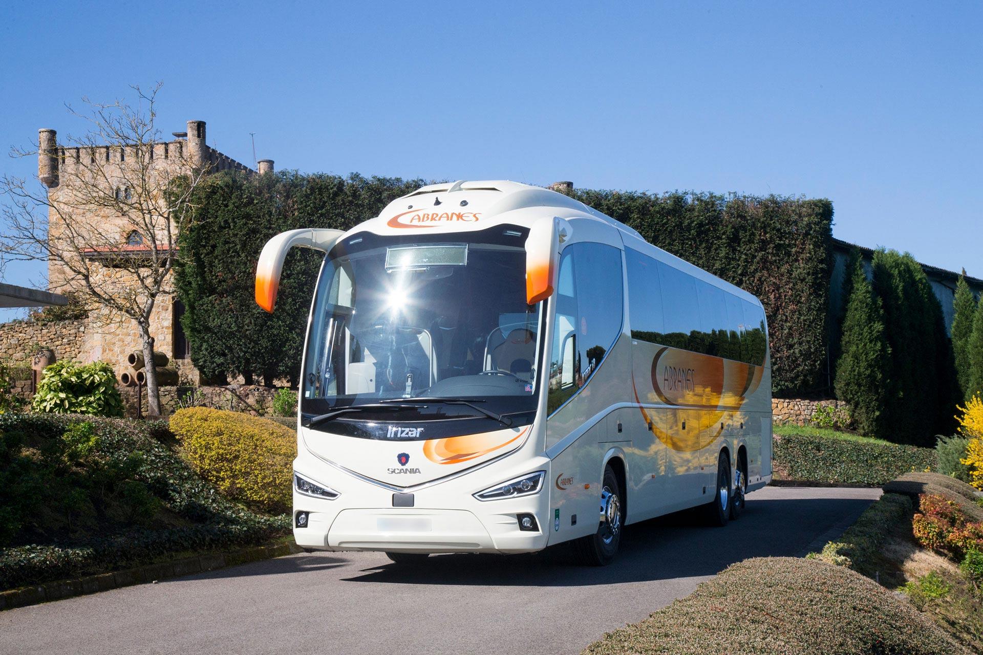 Alquiler de autobuses de lujo en Asturias