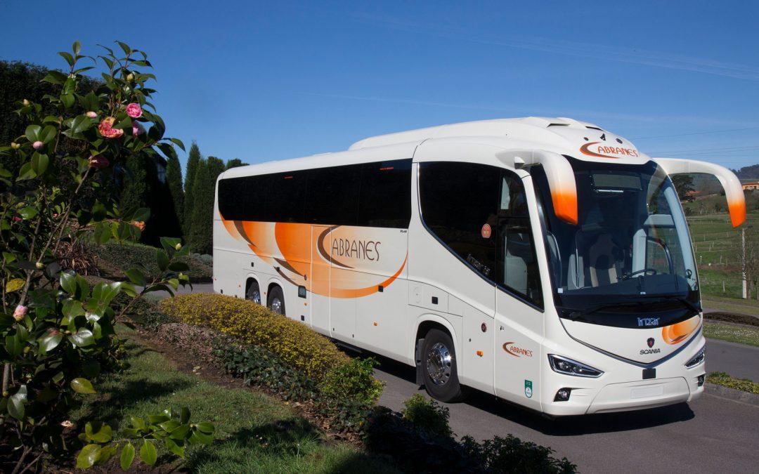 Autocares Cabranes incorpora un nuevo Irizar i8 a su flota