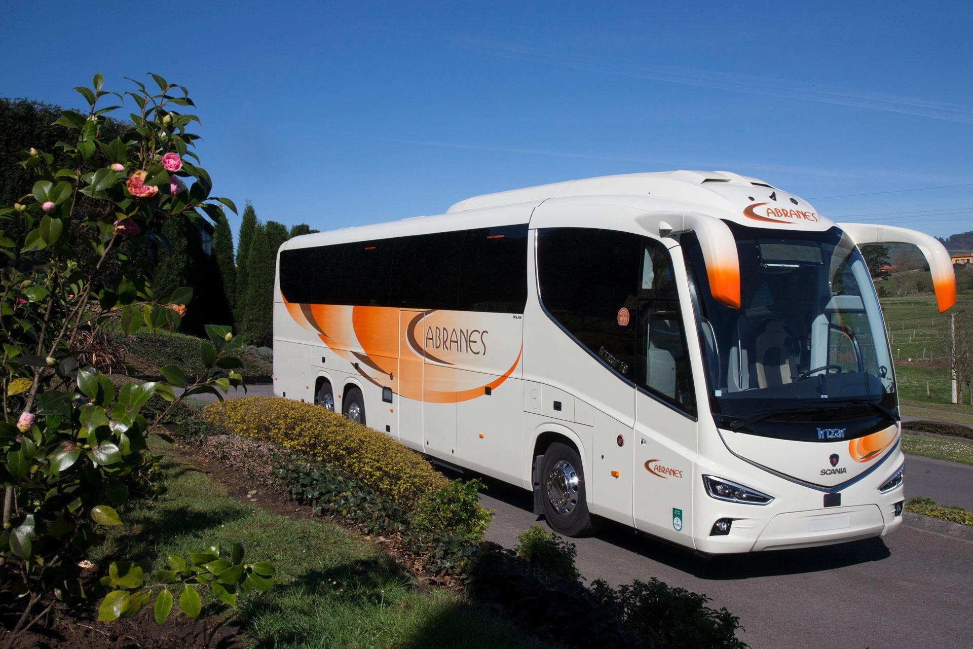 Alquiler de autocares de lujo en Asturias