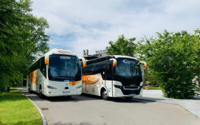 Bus and coach rental in Asturias with Autocares Cabranes