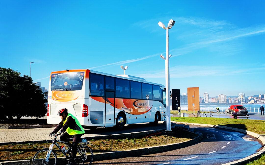 Autobuses para bodas con Autocares Cabranes