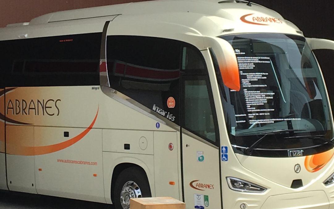 """Autocares Cabranes presenta su """"bus digital"""" en 62ª FIDMA"""