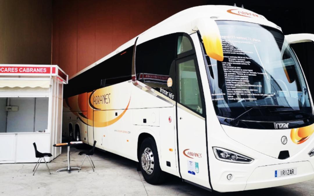 Autocares Cabranes presenta en la 63a FIDMA un novedoso sistema de eco-conducción sostenible