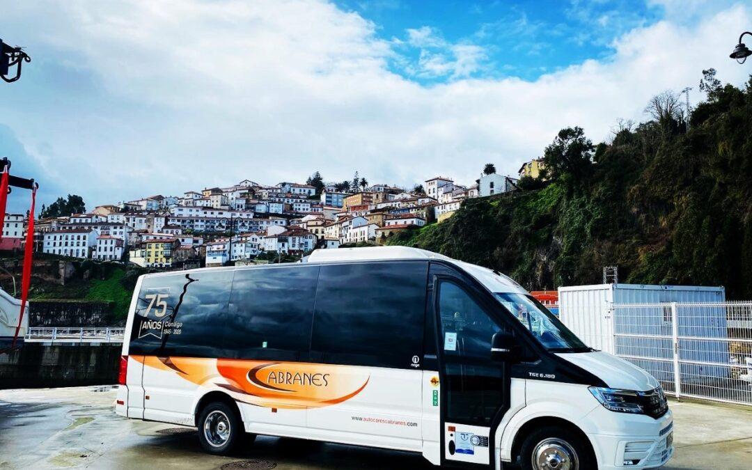 Autocares Cabranes presenta el primer microbús MAN TGE de España