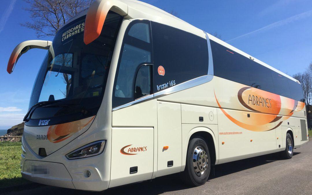 Autocares Cabranes ya despliega Alcolock en un 10% de su flota e incorpora su bus 125