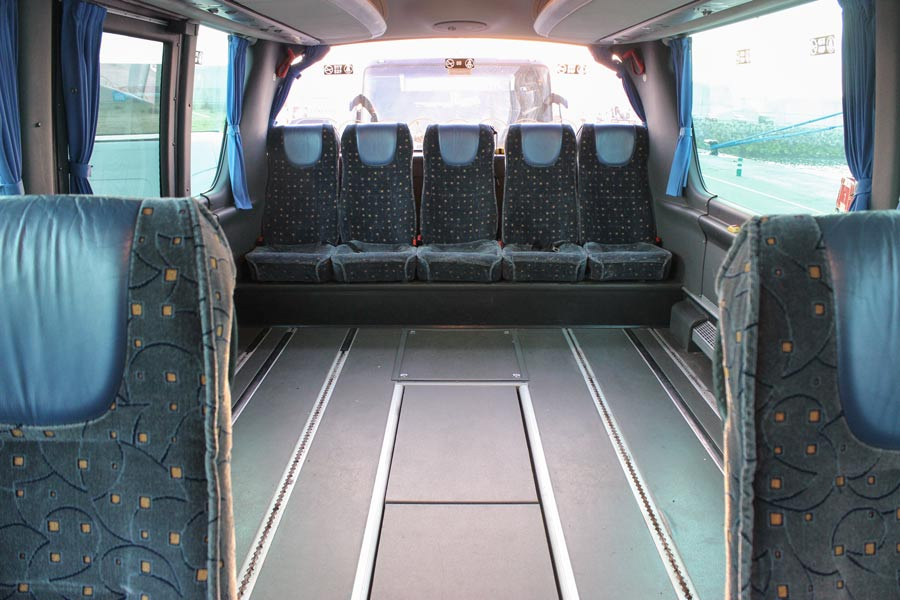 Alquiler de autobuses adaptados para minusválidos