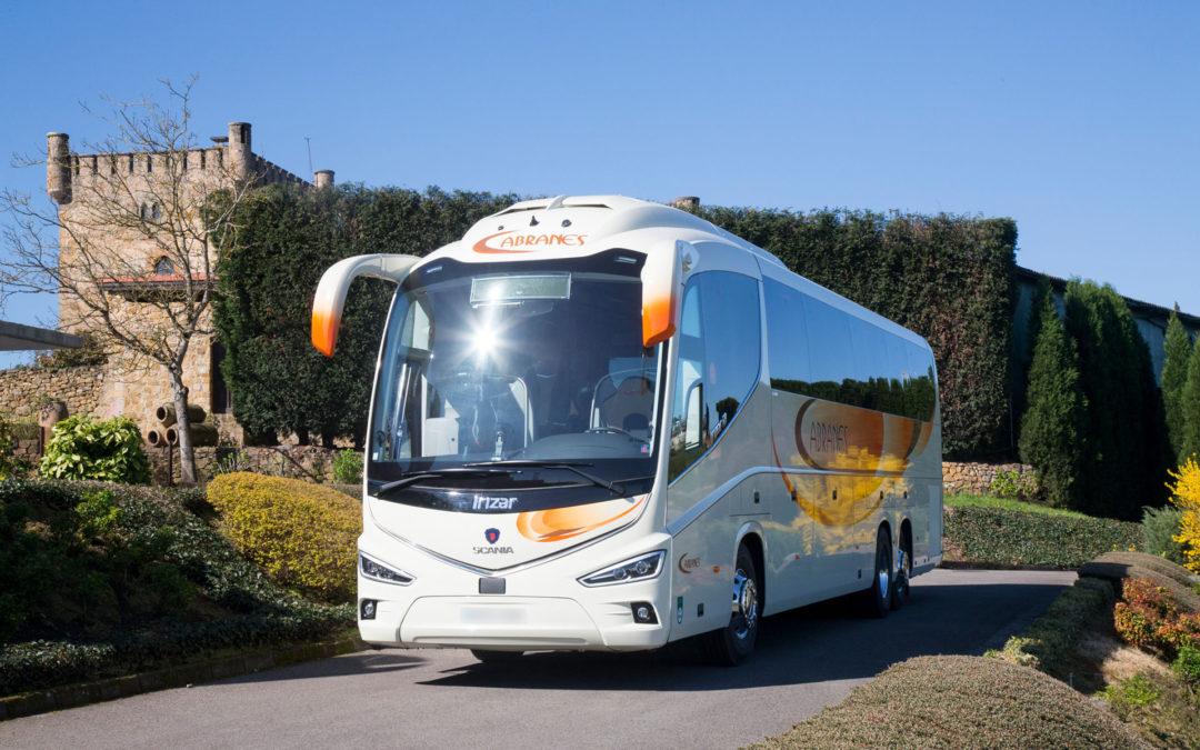 Autocares Cabranes incorpora el mejor autocar del año en Europa 2018