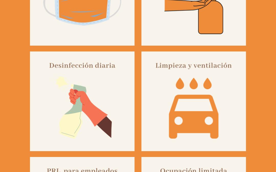 Autocares Cabranes lanza un protocolo de medidas anti Covid