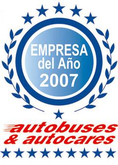 Autocares Cabranes, empresa del año 2007