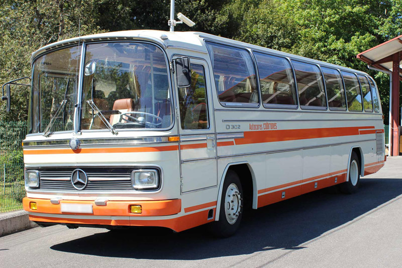 Autocar clásico Mercedes Benz 1973