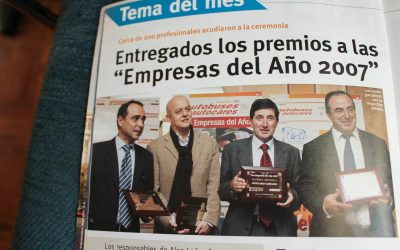 Autocares Cabranes, Company of the Year 2007
