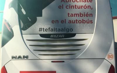 #tefaltaalgo, invitación del Sector a usar el cinturón en favor de la seguridad